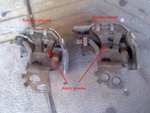 Крепления глушителя Renault Megane 2