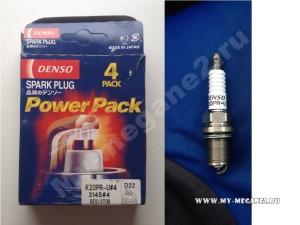 свечи зажигания Denso - K20PR-U 3145 для Рено Меган 2