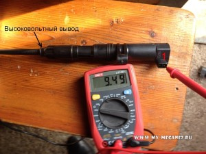 Замер вторичной обмотки катушки зажигания рено меган 2