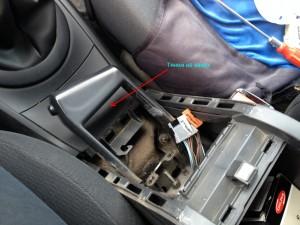 Замена лампы в прикуривателе Renault Megane 2