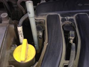 Замена свечей зажигания Renault Megane 2