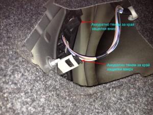Замена лампы в заднем фонаре Renault Megane 2 Универсал