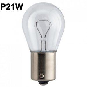 Лампа в фонари света заднего хода / задний фонарь противотуманного света P21W Рено Меган 2