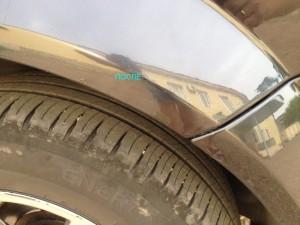 Подкраска сколов Рено Меган 2
