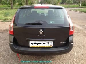 Подкраска сколов Renault Megane 2