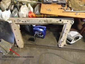 Замена сайлентблоков рычага передней подвески Рено Меган 2