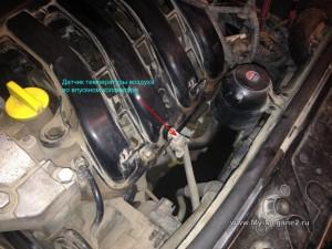 Датчик температуры воздуха во впускном коллекторе Renault Megane 2
