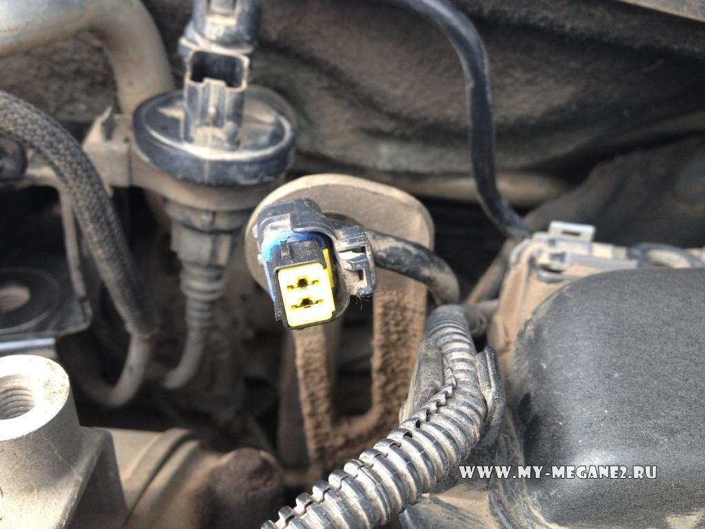 режим продувки двигателя renault