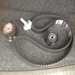 Комплект ремня ГРМ с роликами для Рено Меган 2 с двигателем 1,6 16 клапанов