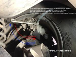 Замена тормозной жидкости на Renault Megane 2
