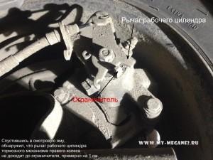 Проблемы с ручником на Рено Меган 2