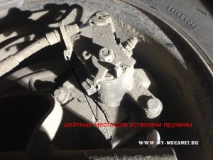 Problems with the emergency brake on Renault Megane 2