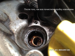 Замена сальника клапана фазорегулятора на Рено Меган 2