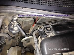 Шум двигателя в салоне Рено Меган 2