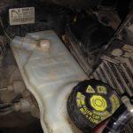 Датчик уровня тормозной жидкости на Рено Меган 2