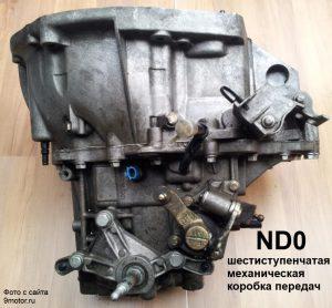 Коробка передач ND0 Рено Меган 2
